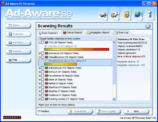how anti spyware software works